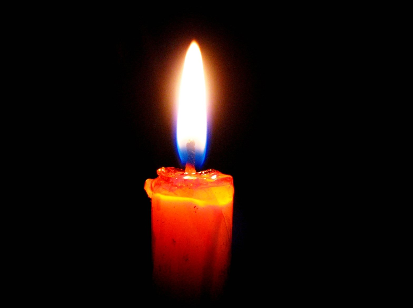 candle in the dark - photo #4