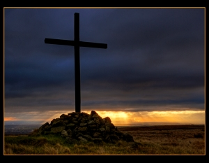 Cross at Dusk