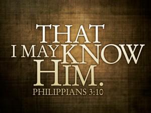 Know Christ