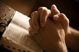 Pray with Bible
