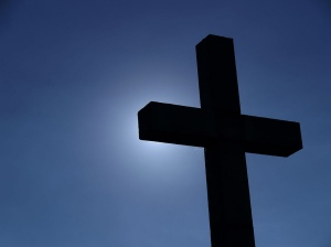 Cross in Blue
