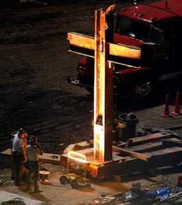 World Trade Center 9-11 cross 4