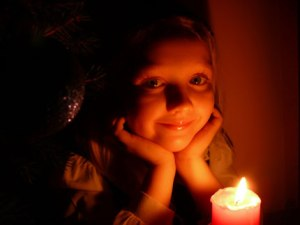 candlelight girl