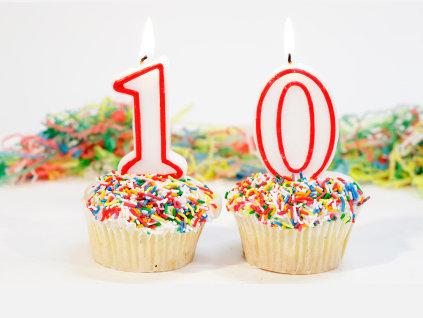 10 years Cupcake