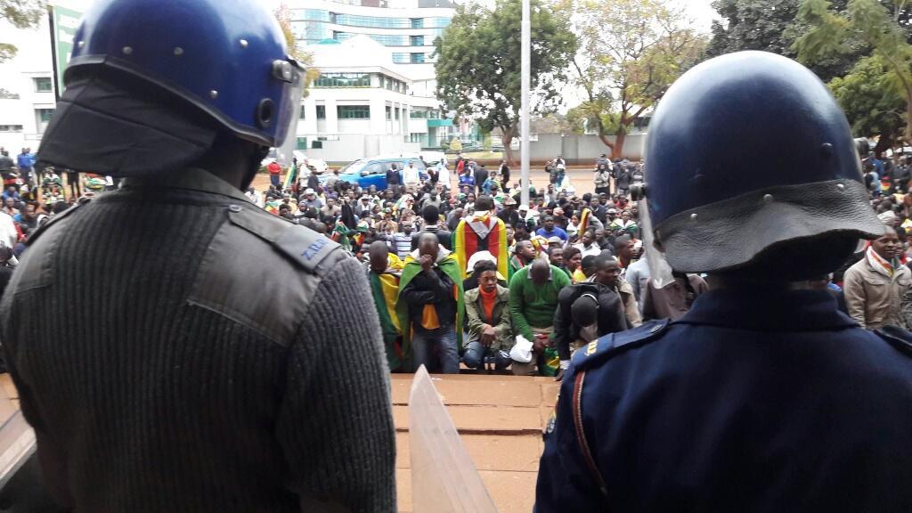 Zimbabwe on Her Knees