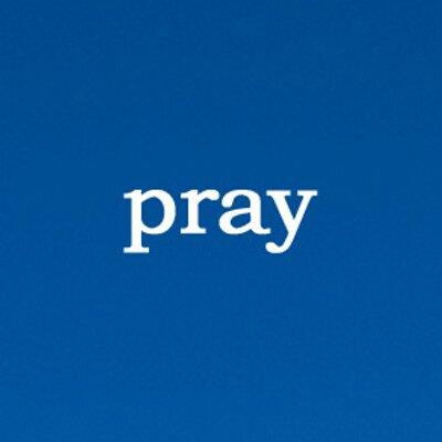 pray-on-blue