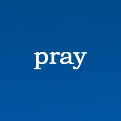 pray-on-blue
